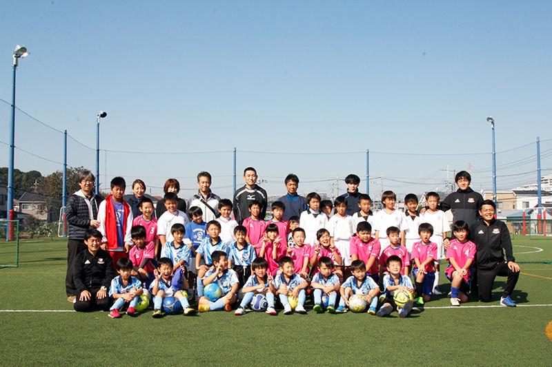 MG_7068 2017年こどもふれあいサッカー教室開催いたしました。
