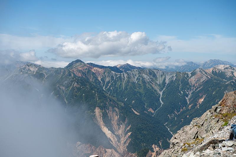 DSC_6716 登山録 槍ヶ岳(2日目)