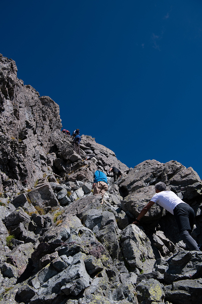 DSC_6724 登山録 槍ヶ岳(2日目)
