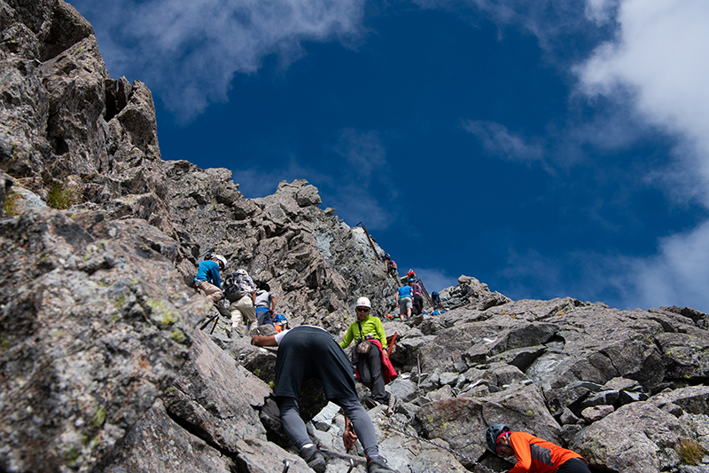 DSC_6730 登山録 槍ヶ岳(2日目)