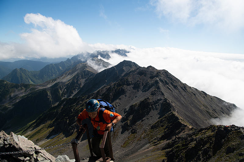DSC_6737 登山録 槍ヶ岳(2日目)