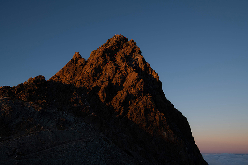 DSC_6807 登山録 槍ヶ岳(2日目)